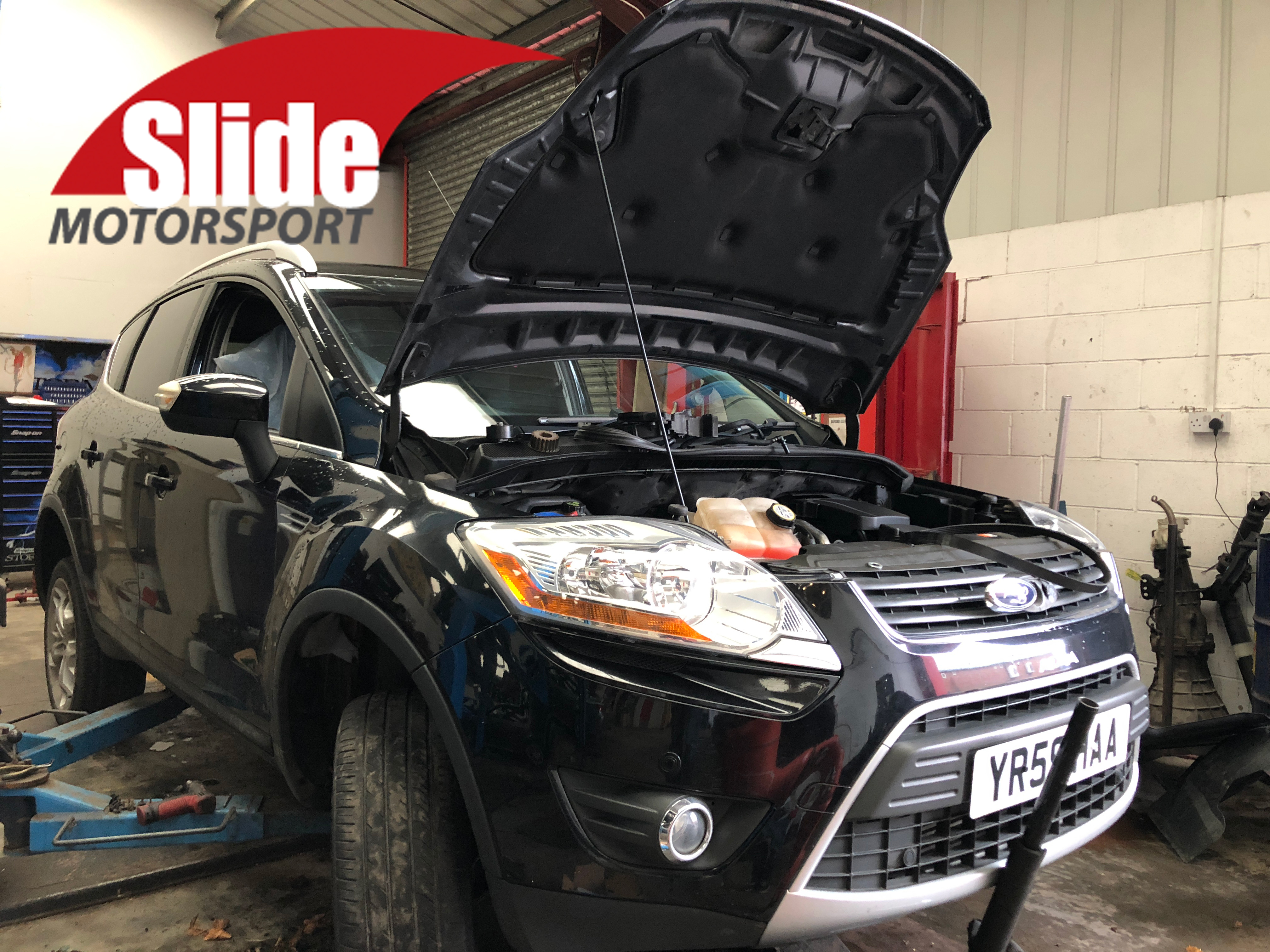 Timing Belt Replacement on a Ford Kuga